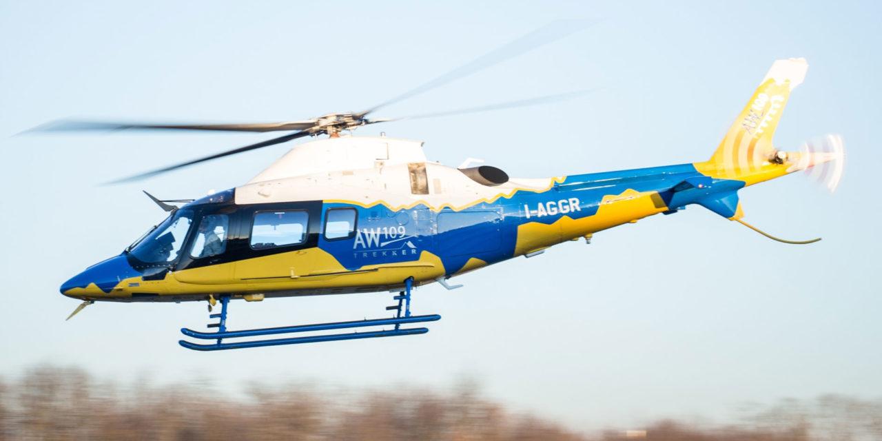 Leonardo AW109 Trekker helicopter achieves EASA certification