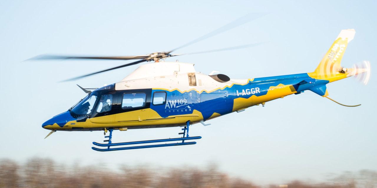 Leonardo's AW109 Trekker receives EASA certification