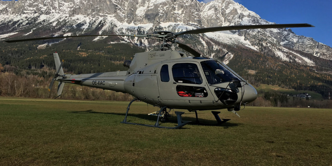 Helicopter Travel Munich sign for four new H125s