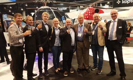 Kopter Group announces new order for 18 SH09 units  from Helitrans AS of Norway
