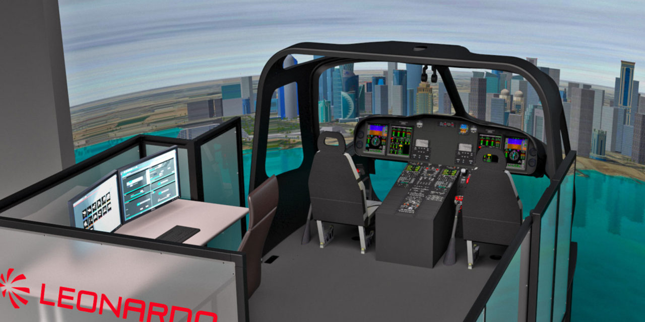 Leonardo introduces new training and flight operations services to increase safety, missions effectiveness and customer service