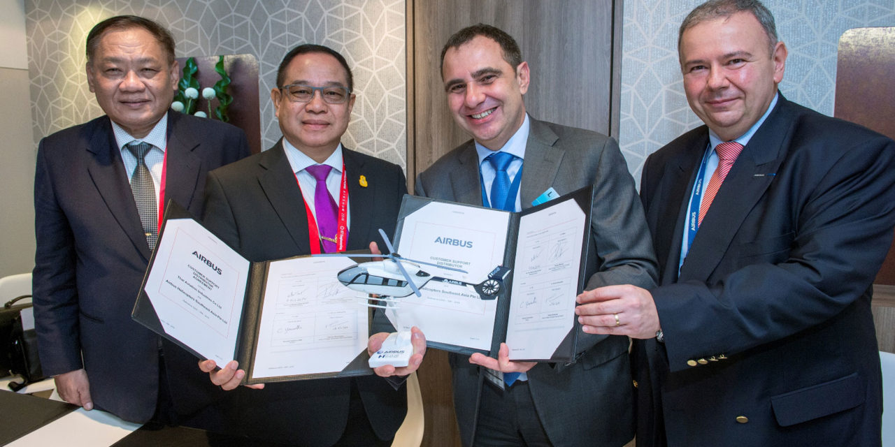 Airbus Helicopters and Thai Aviation Industries to support Royal Thai Armed Forces and Police helicopters