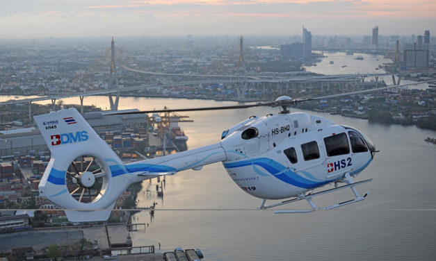 Asia Pacific's HEMS, VIP and military markets present opportunities for the H145