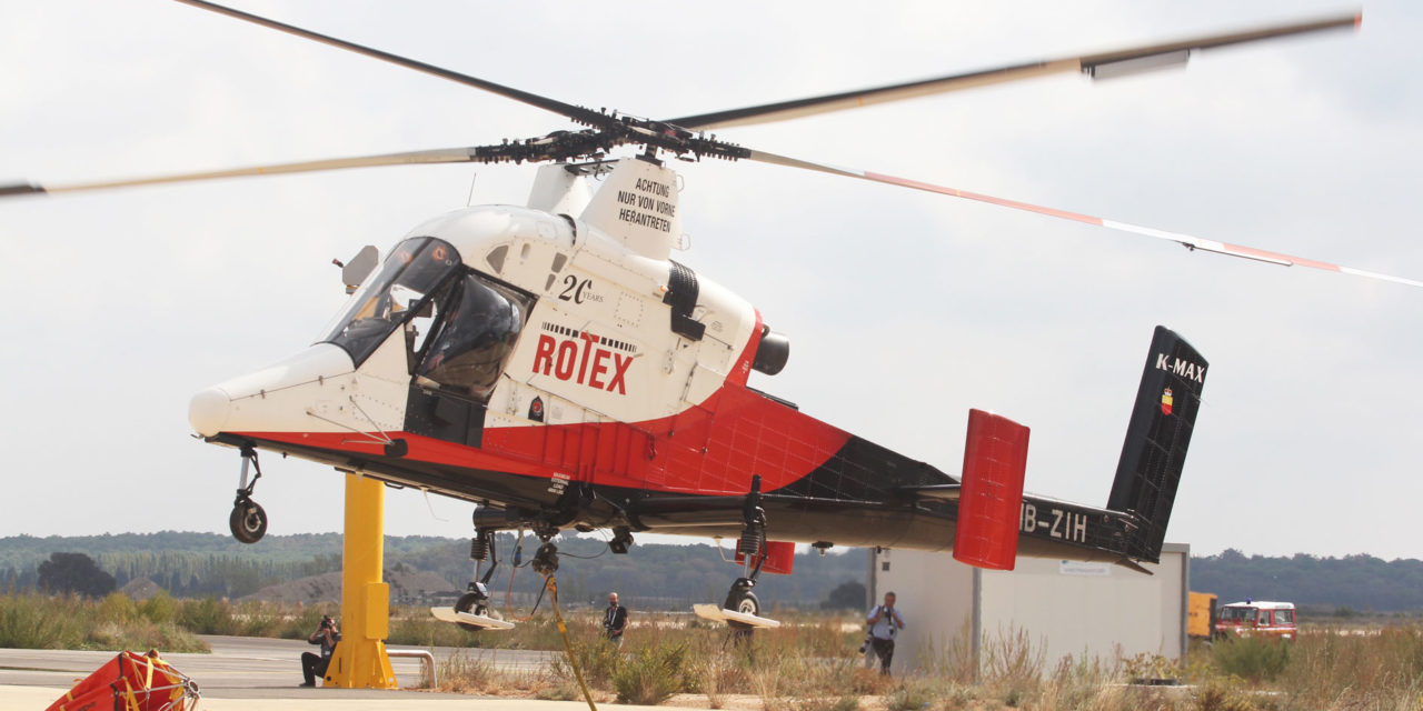 Aerial Firefighting Europe and Aerial Search & Rescue trade shows a hit in Nîmes