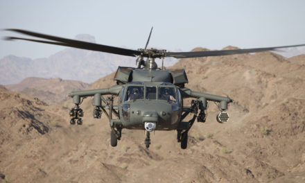 Sikorsky qualifies weapons system for digital Black Hawk helicopter
