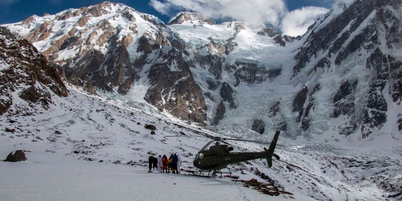 Two H125s help rescue climber in Pakistan