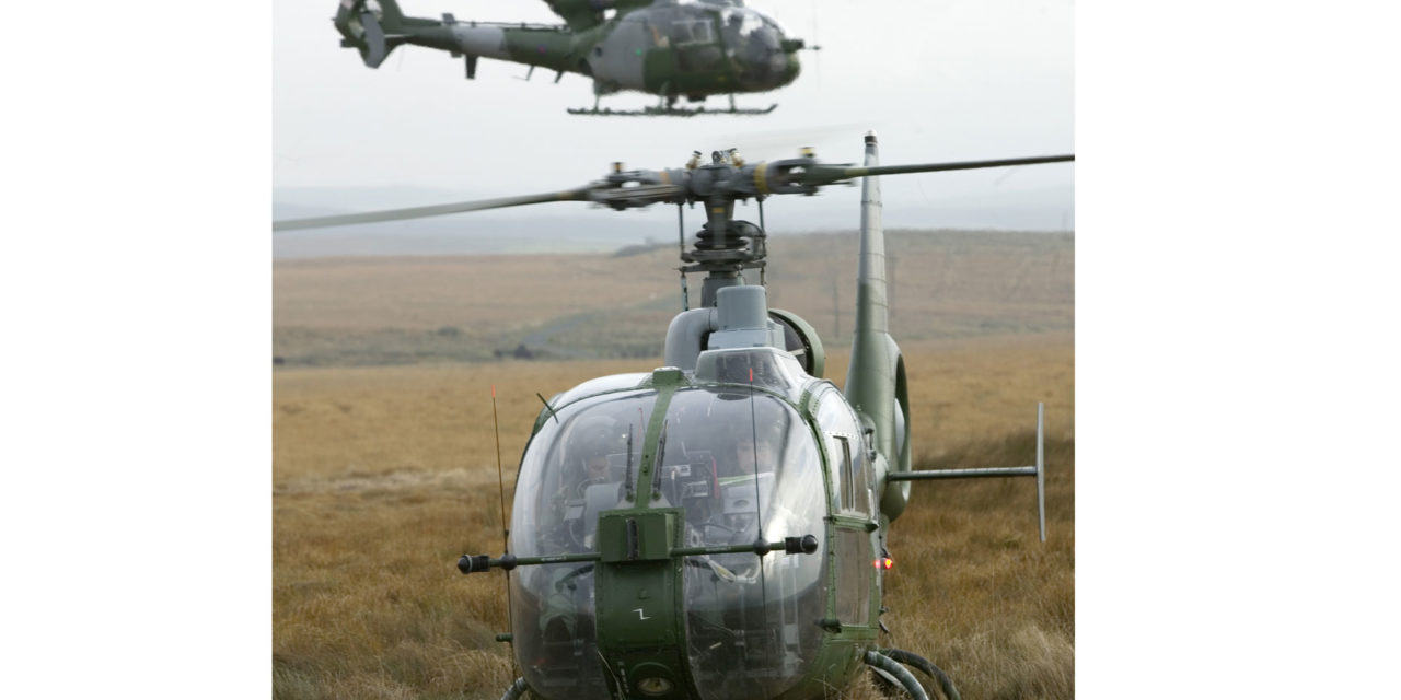 Vector Aerospace secures UK MoD Gazelle helicopter maintenance support contract