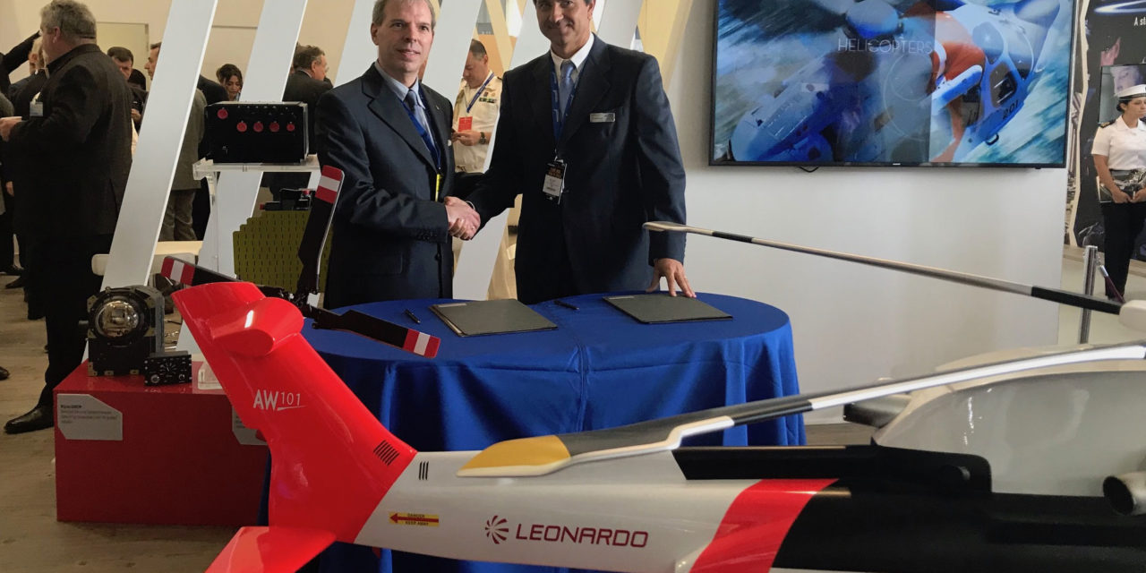 Leonardo strengthens local support for chilean helicopter fleet with new authorised service centre