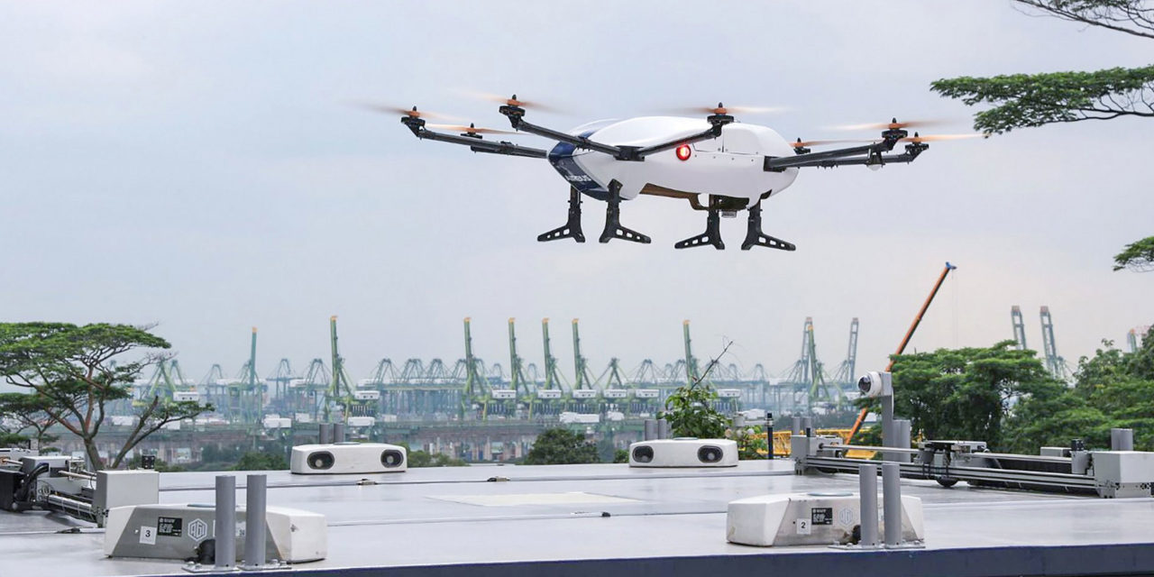 Airbus completes the first flight demonstration of its 'Skyways' parcel delivery drone