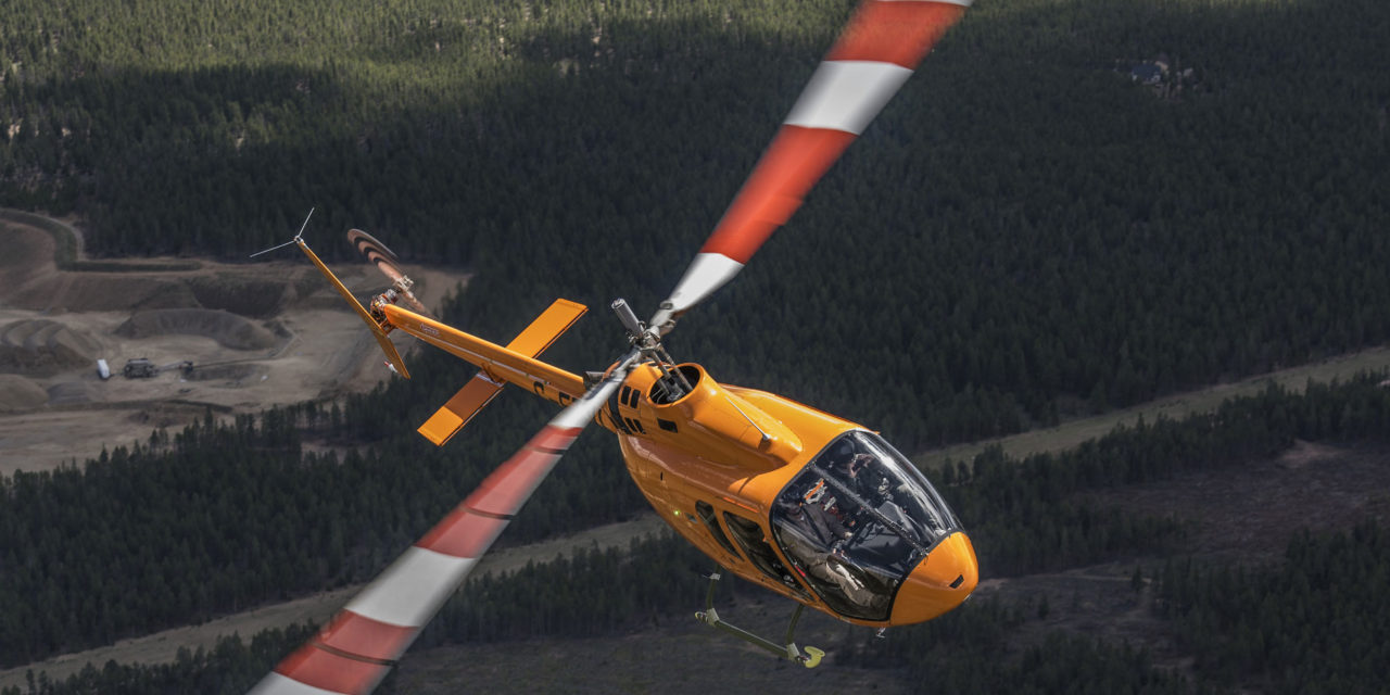 Bell sells the first two Jet Ranger Xs in Vietnam