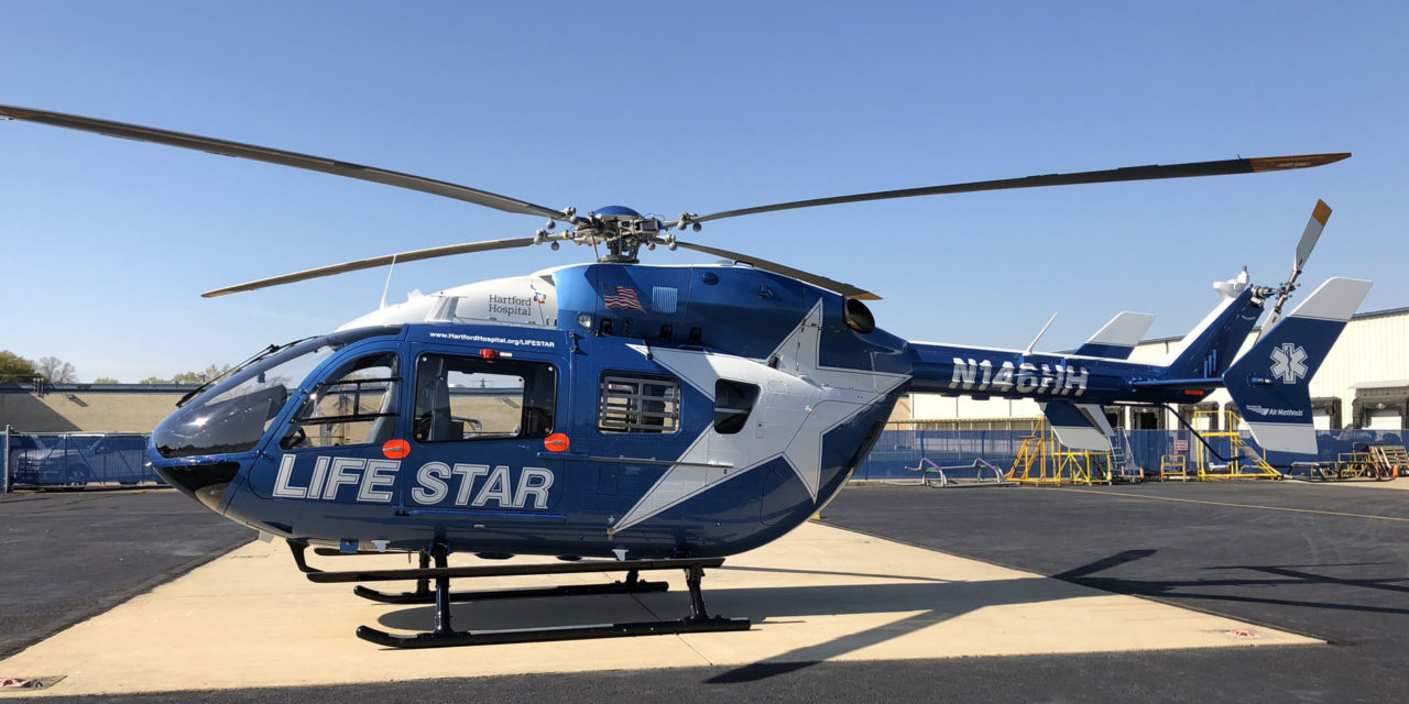 Metro Aviation delivers 145e to Hartford Hospital LIFE STAR