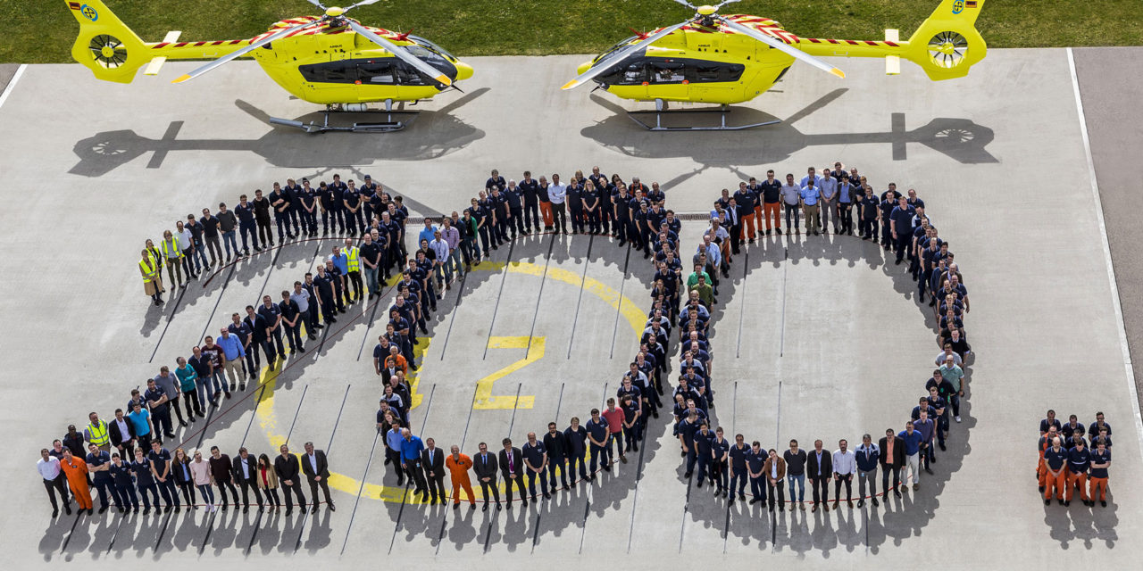 Airbus Helicopters delivers the 200th H145 helicopter to Norsk Luftambulanse