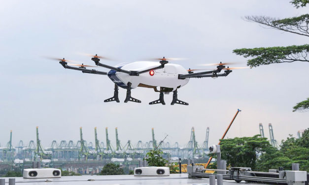 CAAS, EASA and AIRBUS collaborate to advance safety of unmanned aircraft systems in urban environments