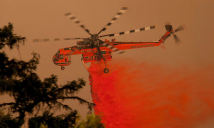 The US Forest Service's Aerial Firefighting Helicopters