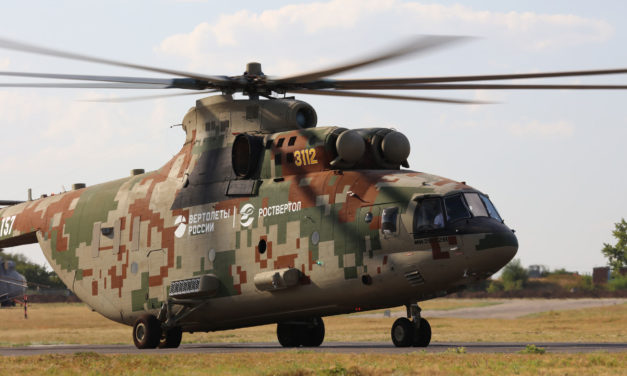 Mi-26T2V: the rebirth of a giant