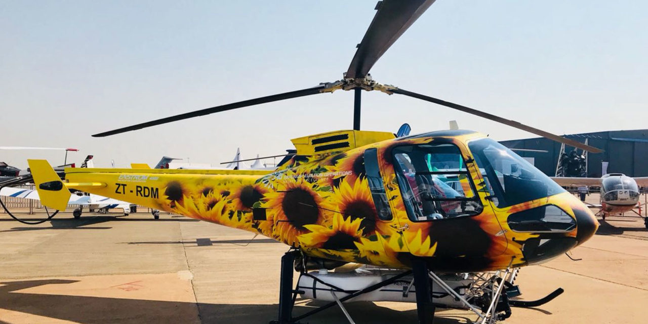 Enstrom announces the sale of a 480B