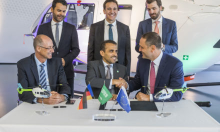 Milestone Aviation and Airbus to Supply Five H145 Helicopters to Aramco
