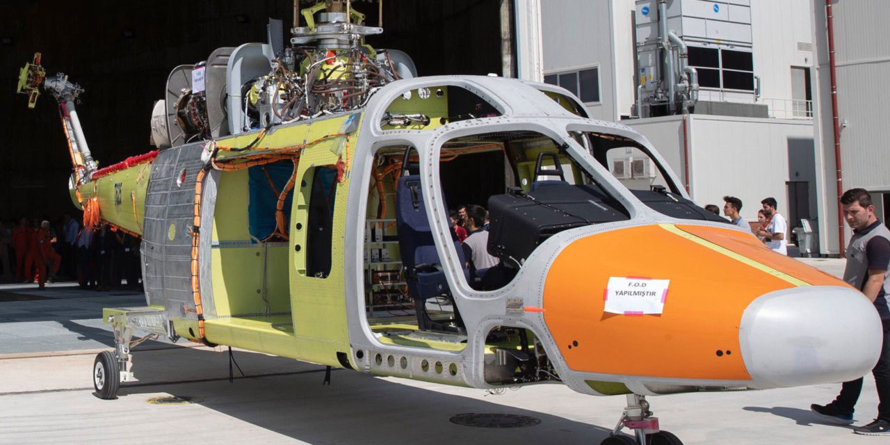 T625 helicopter makes its first flight