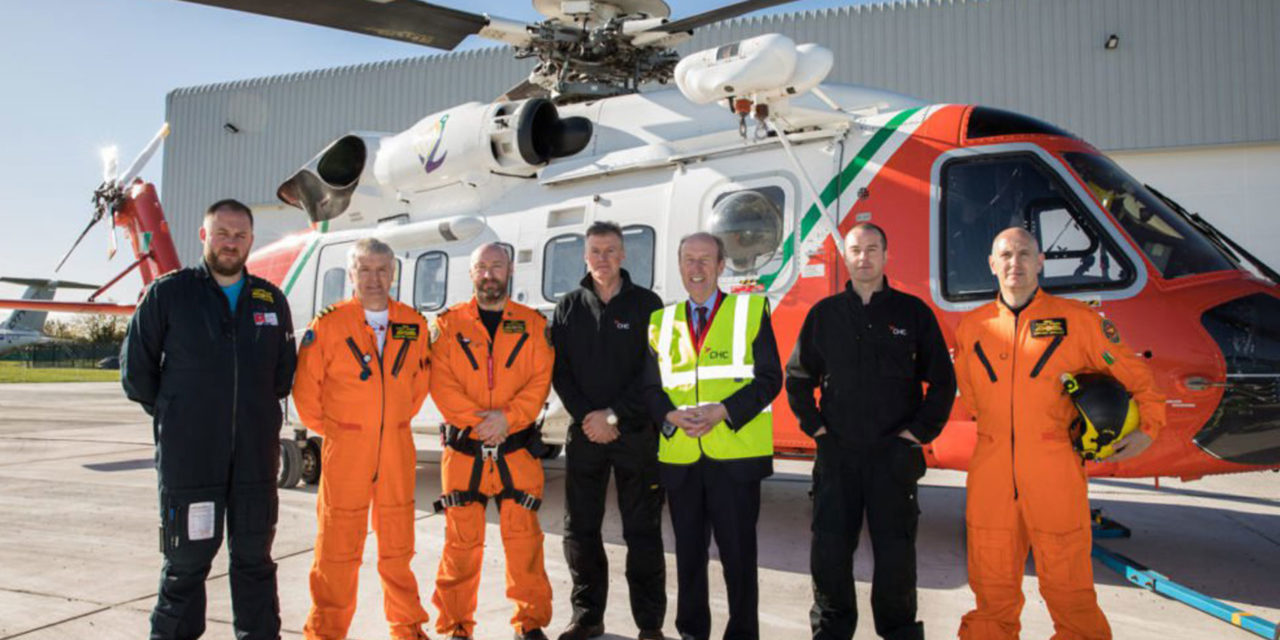 CHC opens new search and rescue facility in Dublin
