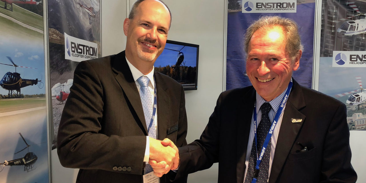 Enstrom Announces 280FX Sale at Helitech