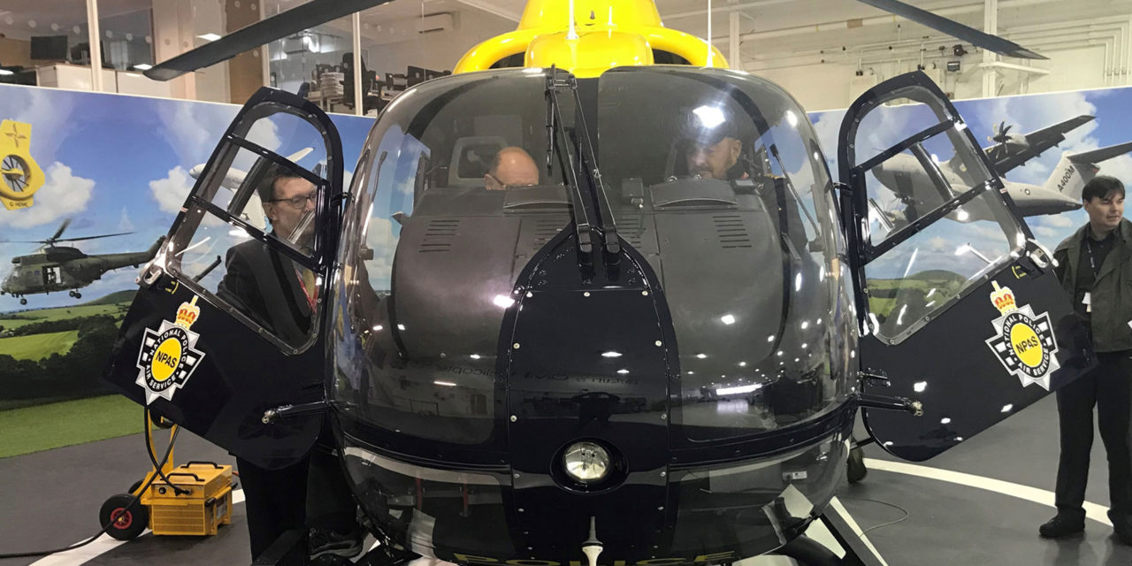 Airbus Helicopters delivers upgraded night vision to NPAS' UK police helicopters