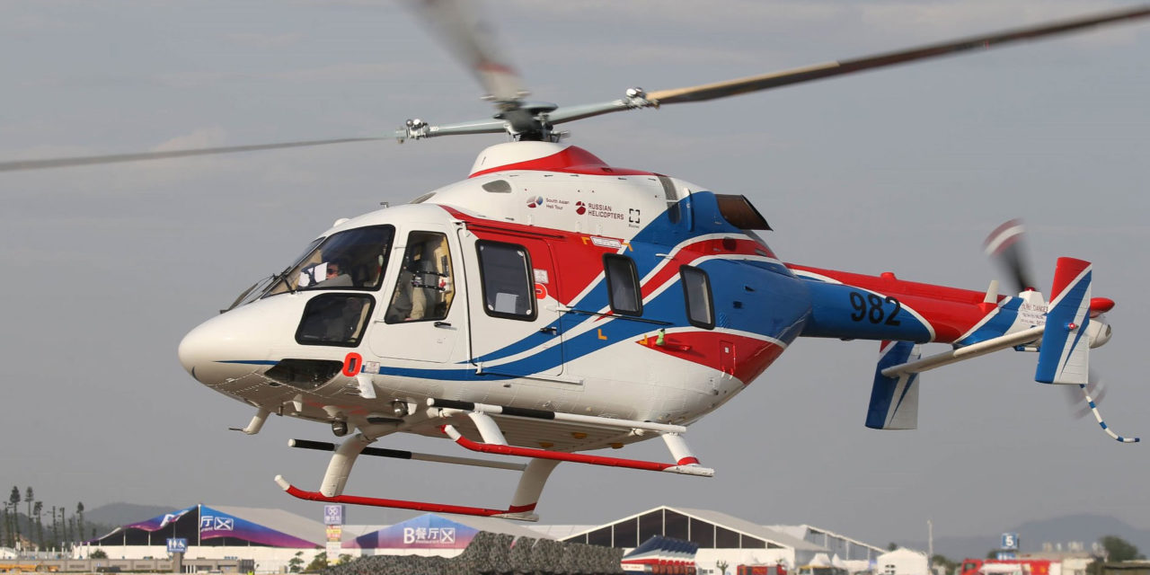 Russian Helicopters sign a contract for delivery of 20 Ansat helicopters to China