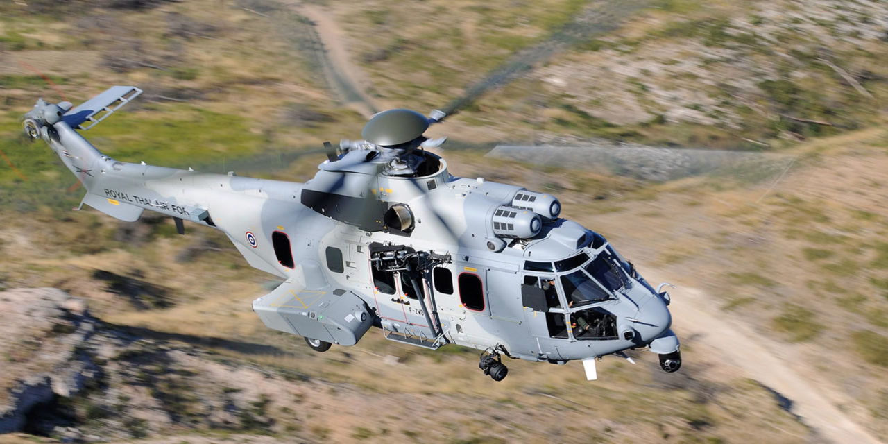 The Royal Thai Air Force receives two new H225Ms