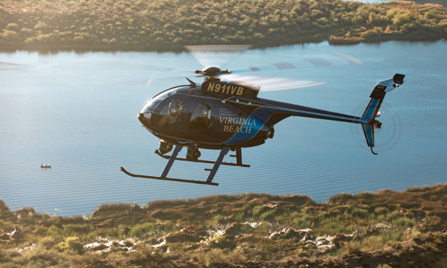 Virginia Beach police department welcomes new MD530F