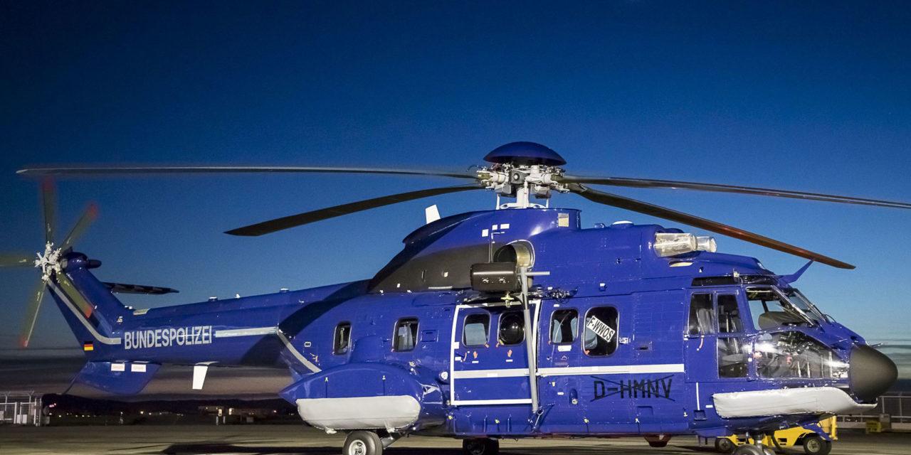 German Fedeal Police strengthens Super Puma fleet