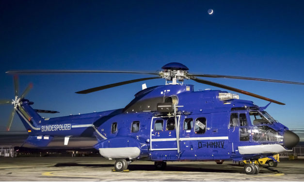 German Fedeal Police strengthens Super Puma fleet