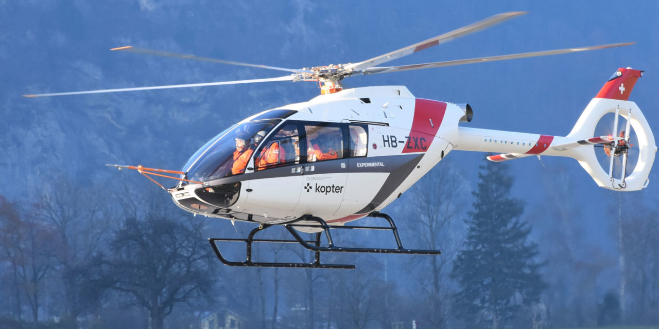 The third SH09 prototype begins its flight tests
