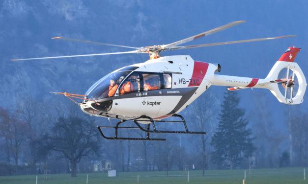 The third SH09 prototype begins its flight tests