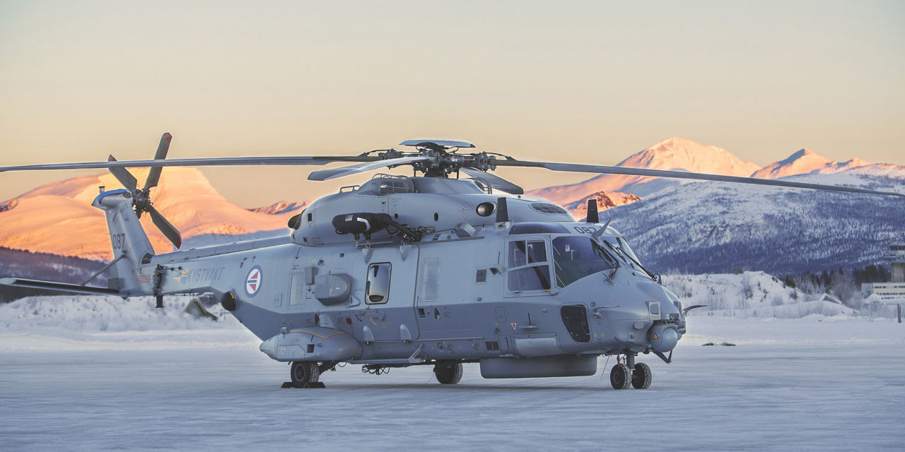 Patria mandated for the maintenance of the NH90 in Norway