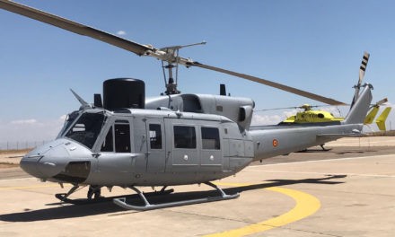 SENER and Babcock Deliver Sixth Upgraded AB-212 to Spanish Navy