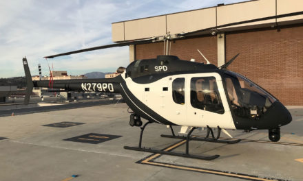Bell delivers the first Bell 505 to the Sacramento Police
