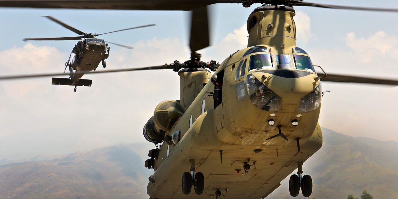 Collins aerospace and US Army sign contract for CH-47F avionics