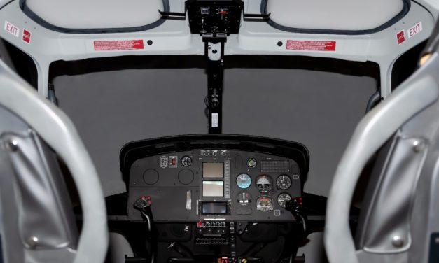 Installation of the Airbus H125 full flight simulator