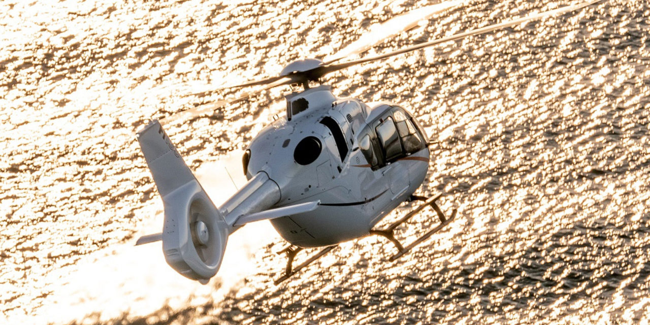 The Brazilian Navy orders three multi-role H135s from Airbus