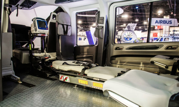 Airbus Helicopters unveils H160 air medical cabin concept by Metro Aviation in North America