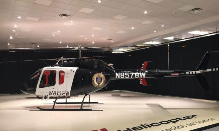 Bell delivers Bell 505 Jet Ranger X to stockton police department