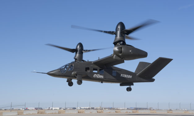 The Bell V-280 Valor demonstrates low-speed agility manoeuvres