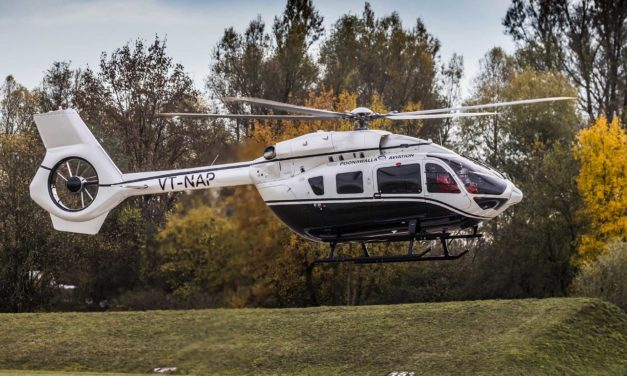 India's first Airbus Corporate Helicopters ACH145 delivered