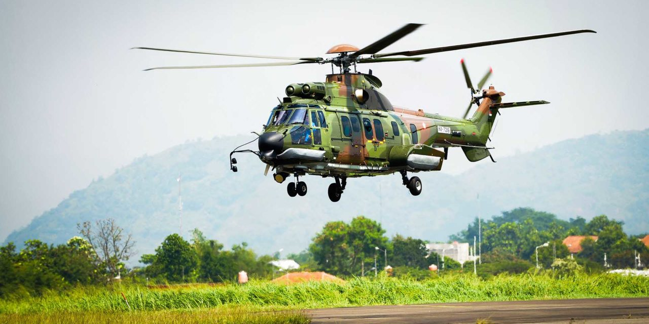 Indonesian Air Force Orders Eight Additional H225Ms