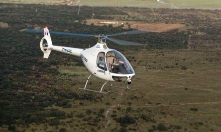 An Unmanned Cabri Flew
