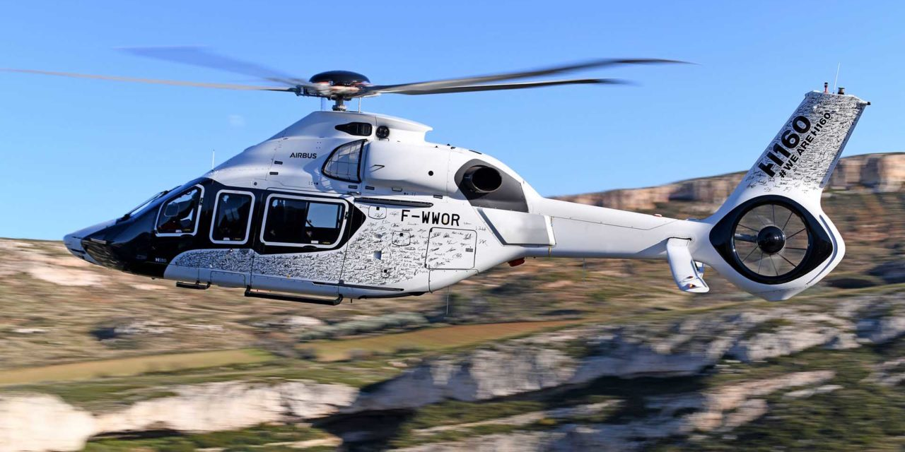 The first H160 series takes flight