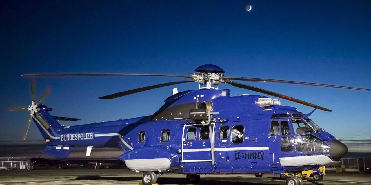 German Federal Police strengthens Super Puma fleet