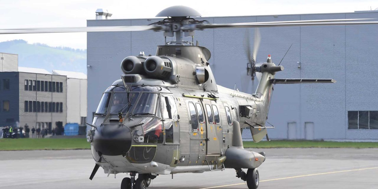 RUAG upgrades eight Swiss Air Force transport helicopters