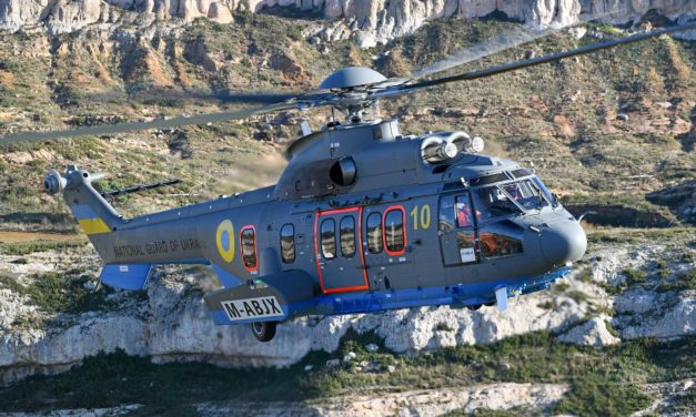 Ukraine receives its first H225s refitted by Airtelis
