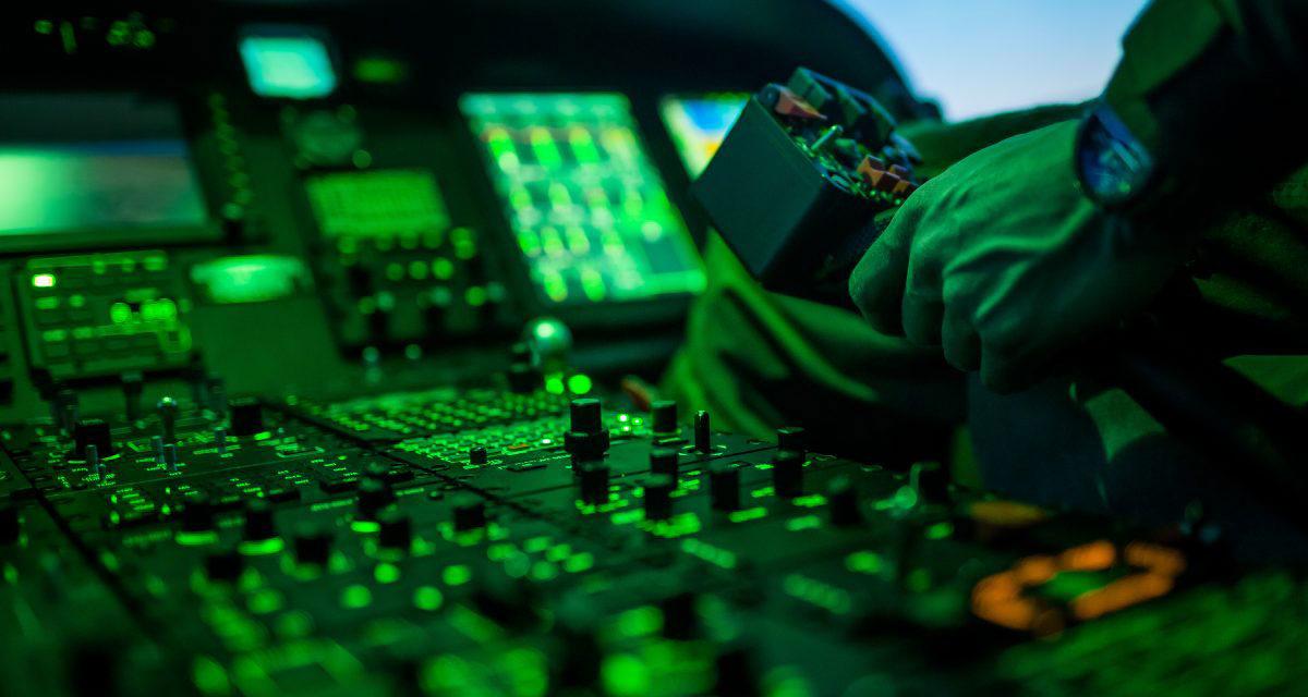 Installation of an Airbus H125 full flight simulator