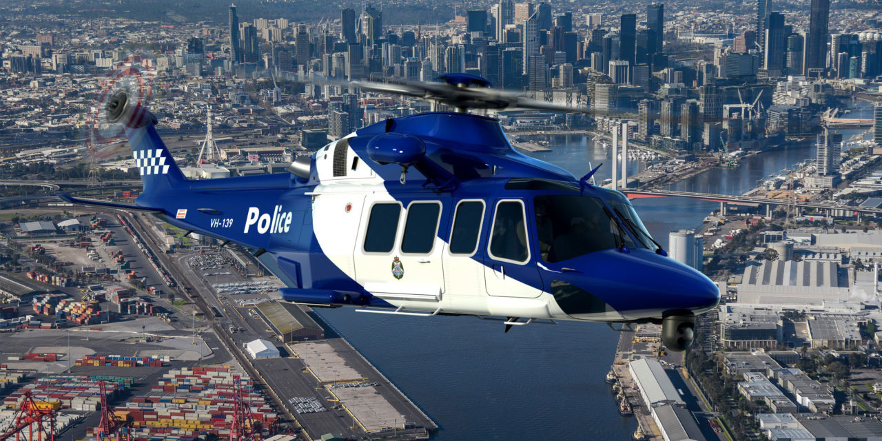 Three AW139 for the Victoria Police in Australia